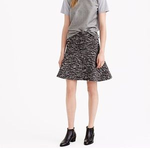J crew skirt in tweed